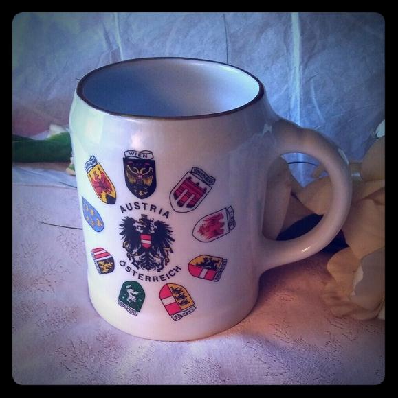 Vintage Other - Austria/Osterreich Ceramic Beer Mug Stein
